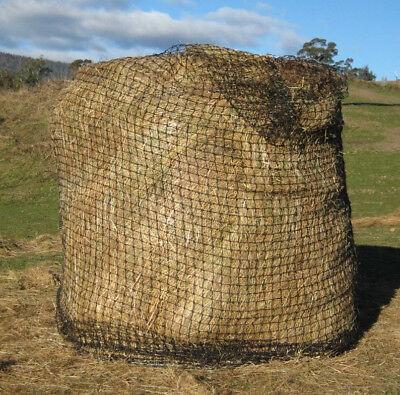 Nylon Hay Net - ROUND HAY BALE SLOW FEED HAY NET NYLON FOR HORSE COW GOAT SHEEP LLAMA LAMB PONY