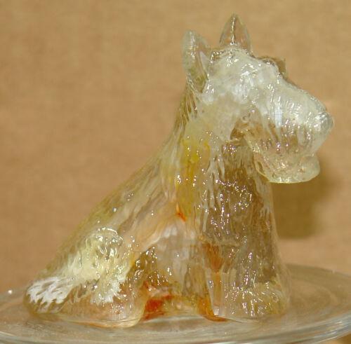 Boyd Glass Duke Scottie Dog Bronze Slag