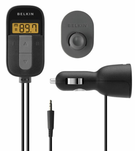 New Belkin F8M066 Tunecast Auto Universal FM Transmitter for MP3 Players