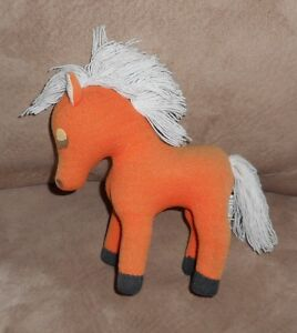 Original 1950's Dakin Dream Pets - orange horse