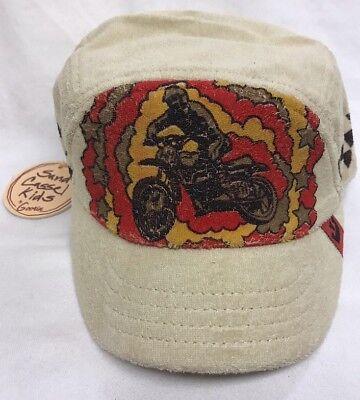 NWT Goorin Sand Cassel Kids BMX Retro Youth Hat Cap Size S/M Goorin Kids Hat