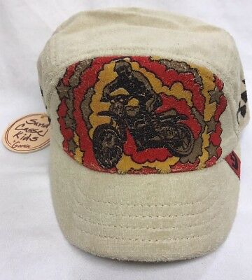 NWT Goorin Sand Cassel Kids BMX Retro Youth Hat Cap Size -