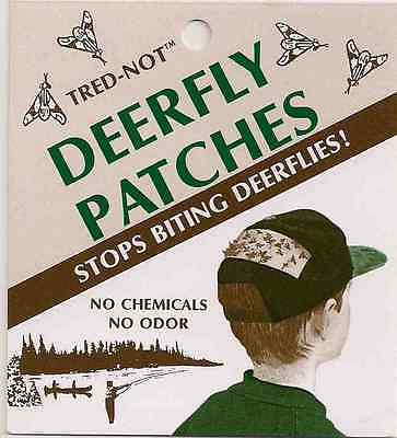 12 pk Deerfly Patches, TredNot Deer Fly Patch Odorless repellent
