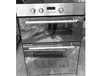 Hotpoint mirror stainless steel Intergrated Double Oven