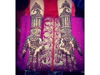 PROFESSIONAL HENNA ARTIST OVER 15 YEARS EXPERIENCE BRIDAL/ CORPORATE/ EID/ DIWALI COVERS ALL AREAS