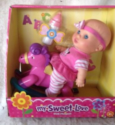 """Buy cheap My Sweet Love 9.5"""" Baby Doll W/Riding HORSE products"""