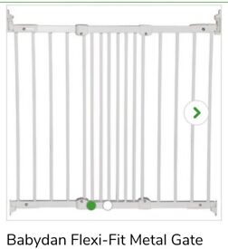 Babydan flexi-fit metal gate