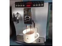 JURA IMPRESSA X5 BEAN TO CUP COFFEE MACHINE WITH MILK FRIDGE AND DISPENSER