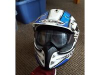 Dirt Bike Helmet with goggles