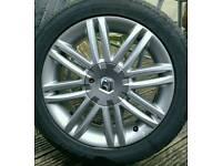"Renault clio gt 16"" solonia alloys"