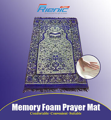Outstanding Quality MEMORY FOAM Prayer Mat Perfect for Gift Pray Colours