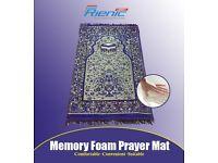 Rejoice your prayers with memory foam muslim prayer mats
