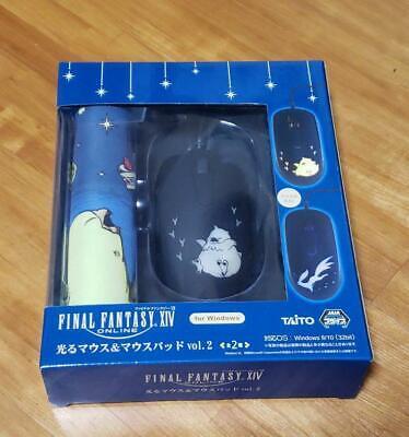 Final Fantasy XIV Shiny mouse & pad vol.2 Fat Chocobo ver. FFXIV FF14 Japan ()