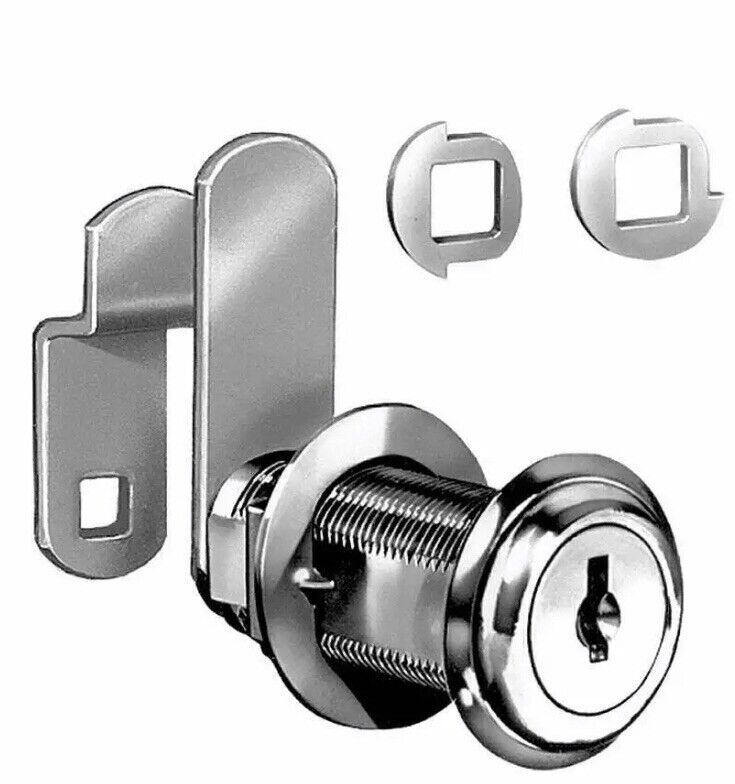 4 Sets CompX Natl C8060-C346A-14A Disc Tumbler Flex Cam Keys Cabinets Locks