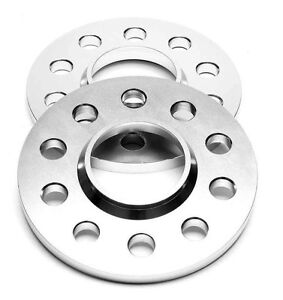 SPURPLATTEN SPURVERBREITERUNG 2x 10mm  =  20mm; LK 5x110 5x108; NLB 65,1mm