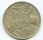 1966 Round 50 Cent Coin