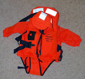 Baby Life Jacket, as new, baby's buoyancy aid, life preserver, yachting etc.