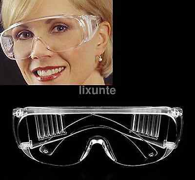 Chemistry Lab Eye Protective Safety Adjustable Goggles Glasses Protection Us