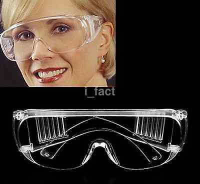 Safety Lab Protection Glasses Goggles Eye Eyewear Laboratory Protective Work