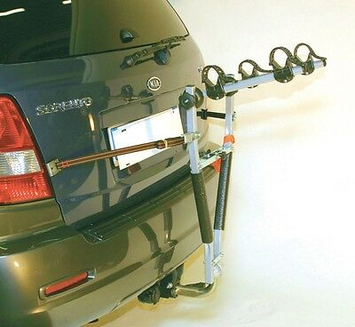 New TOWBALL TOW BAR 2 BIKE CYCLE RACK CAR CARRIER