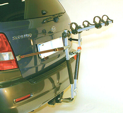 CAR BIKE RACK TOWBALL MOUNTING FOR UPTO 2 BIKES
