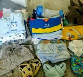 Baby bundle of boys clothes 0-3 months