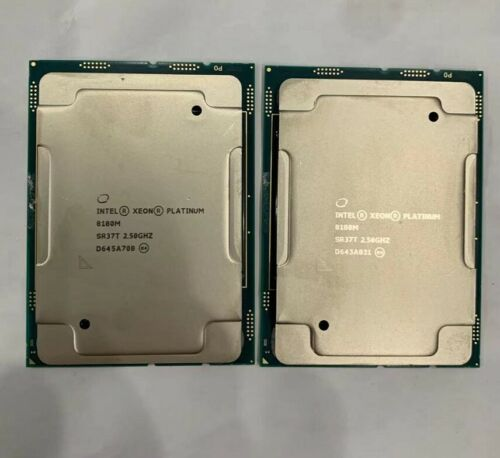 INTEL XEON Platinum SR37T  8180M QS processor 28 core 2.5G server CPU  LGA3647