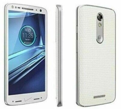 Motorola Droid Turbo 2 XT1585 4G LTE GSM Unlocked(Verizon) White Cell Phone