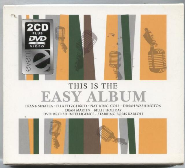 Various Artists-This Is the Easy Album DOUBLE CD + DVD