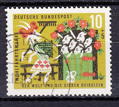 BRD 1963 MI NR 408 GESTEMPELT LUXUS