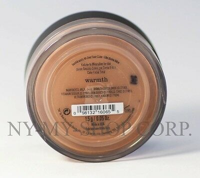 bareMinerals Bare Escentuals Warmth All-Over Face Color 1.5g - XL - NEW - SEALED