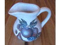 Decorative Pot Jug with Fruit On. Bathroom/Kitchen - used