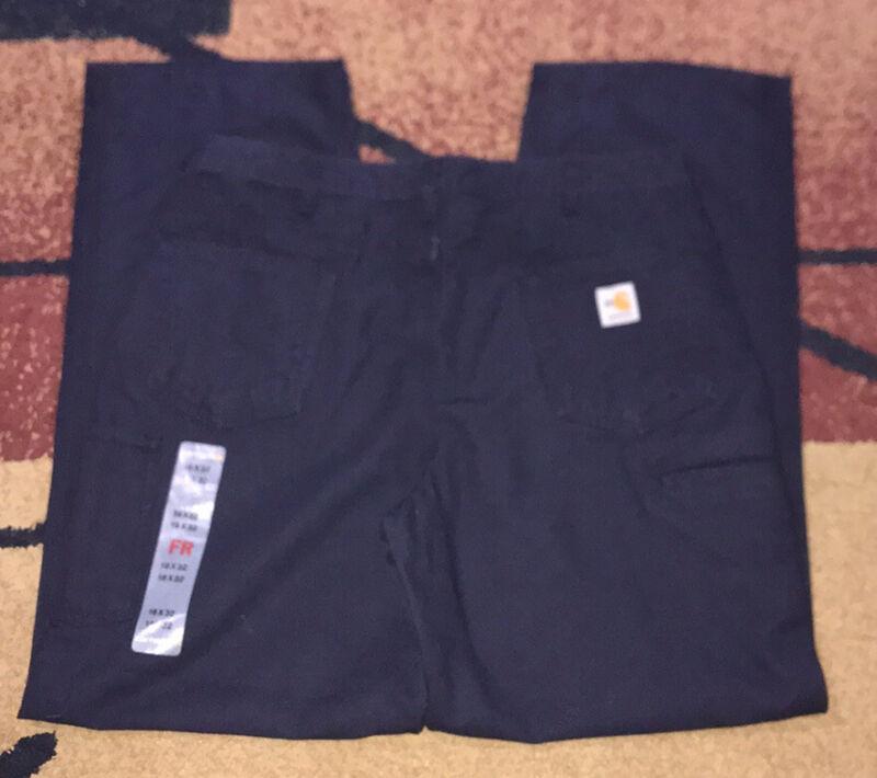 Women's Carhartt FR canvas pants 16x32 NWT