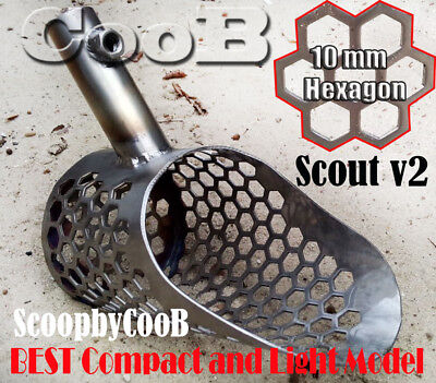 *Scout V2* by COOB Small Stainless Steel  Sand Scoop Metal Detector Hunting Tool