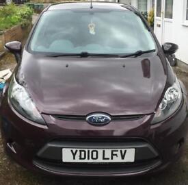 2010 FORD FIESTA 1.6 TDCi ECONETIC+FREE ROAD TAX+6 MONTH MOT+RARE COLOUR!!