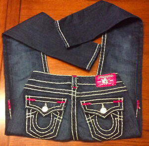 True Religion Authentic Jeans paid Over $300.00 NEW too small