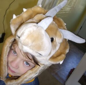 triceratops hat/mask