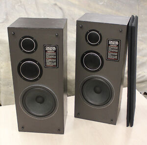 Digital Fidelity M-800 3-Way Floor Speakers