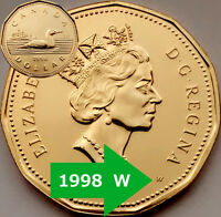 1998W, 2000W, 2003W, 1999P and Test Token Coins