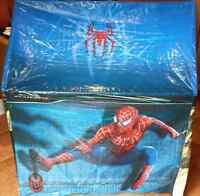 Spider-Man Plastic Tent + Backpack + Bag