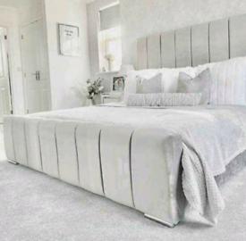💜BRAND NEW PLUSH VELVET BEDS ON SALE DOUBLE KING SUPERKING ANY COLOUR