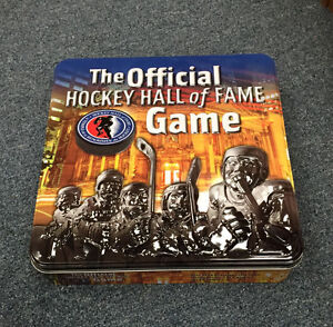 OFFICIAL HOCKEY HALL OF FAME BOARD GAME MISSISSAUGA