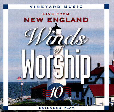 Vineyard Music • Winds Of Worship, Vol. 10 • Live From New England CD 1997