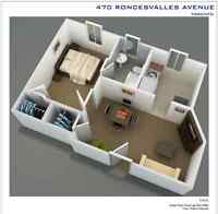 $925 1 bedroom at Dundas and Roncesvalles!!!