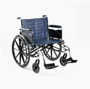 Wheelchair with oxygen tank holder