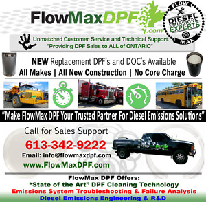 DPF DOC SCR Cleaning and Repairs / Sales / Solutions (Diesel)