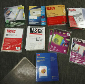 Brand New Office Supplies - office move clearance all for $40