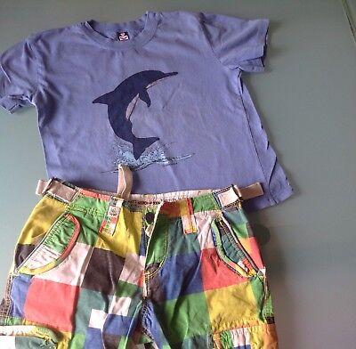 Delfine T-shirt Sweatshirt (TRIGIMA Gr 128 T-Shirt Blau  Delfin Pullover Sweatshirt )