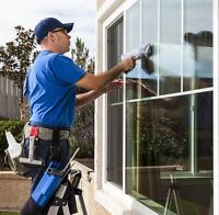WINDOWS AND EAVES CLEANERS- FULL TIME $16/HR