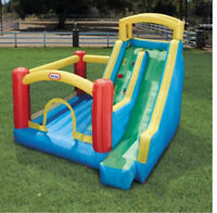 RENT- Bouncy Castle/ Bouncy House with Giant Slide- RENTAL
